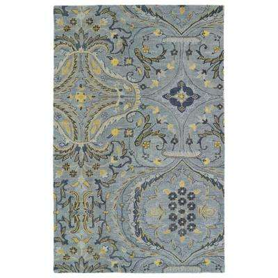 Helena Grey 9 ft. x 12 ft. Area Rug
