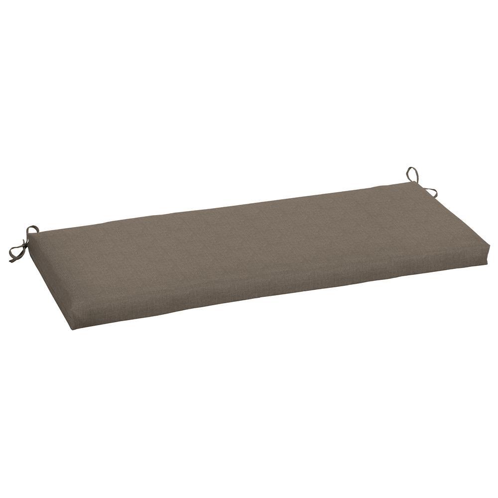 48 x 18 Sunbrella Cast Shale Outdoor Bench Cushion