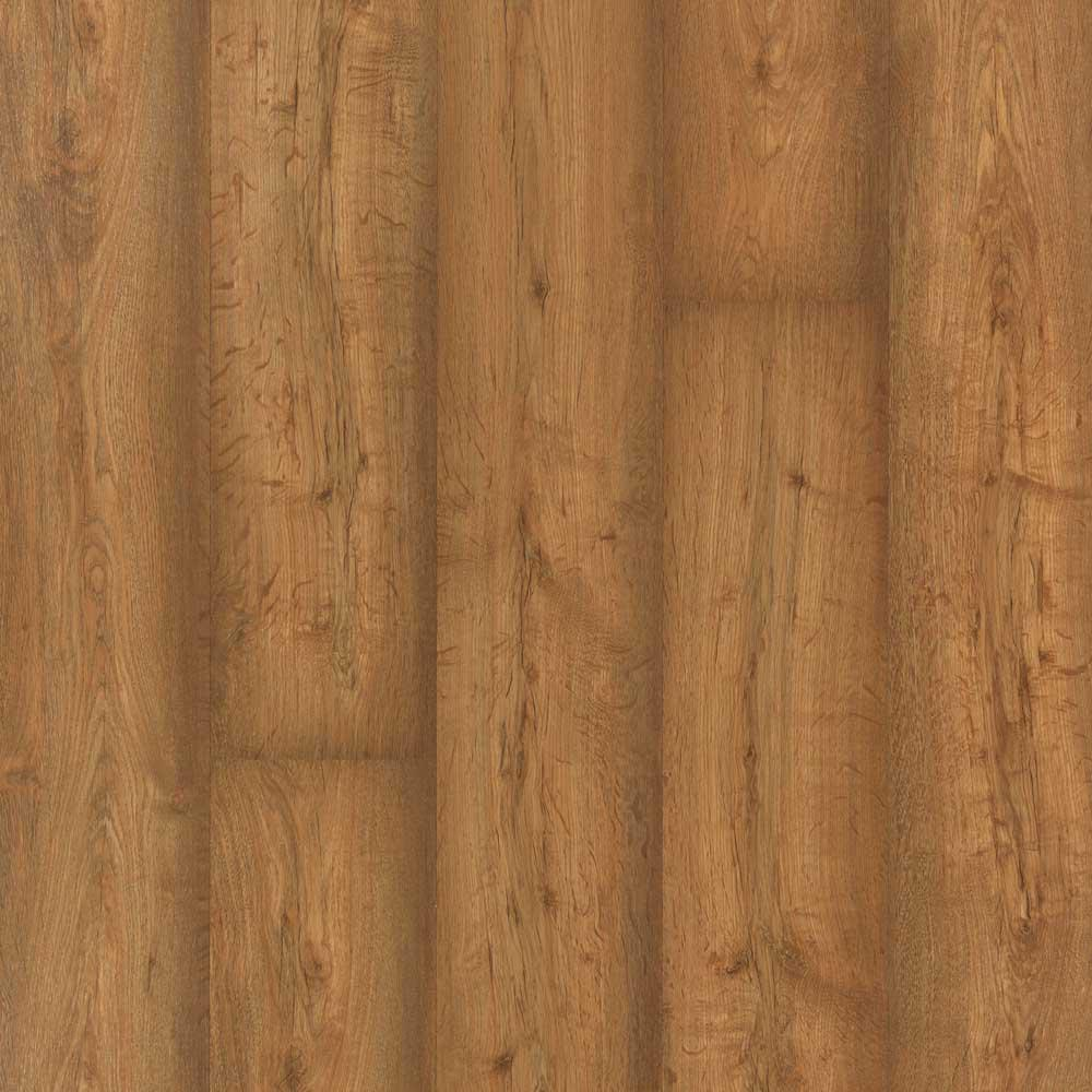 Pergo XP Burnished Caramel Oak 8 mm Thick x 7-1/2 in. Wide x 47-1/4 in. Length Laminate Flooring (22.09 sq. ft. / case), Light -  LF000846