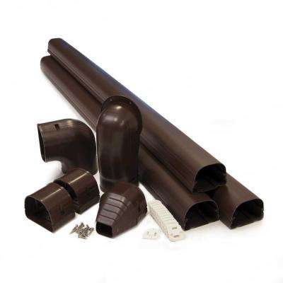 "Fortress 3.5"" LDK92B 12'  Brown Lineset Cover Kit"