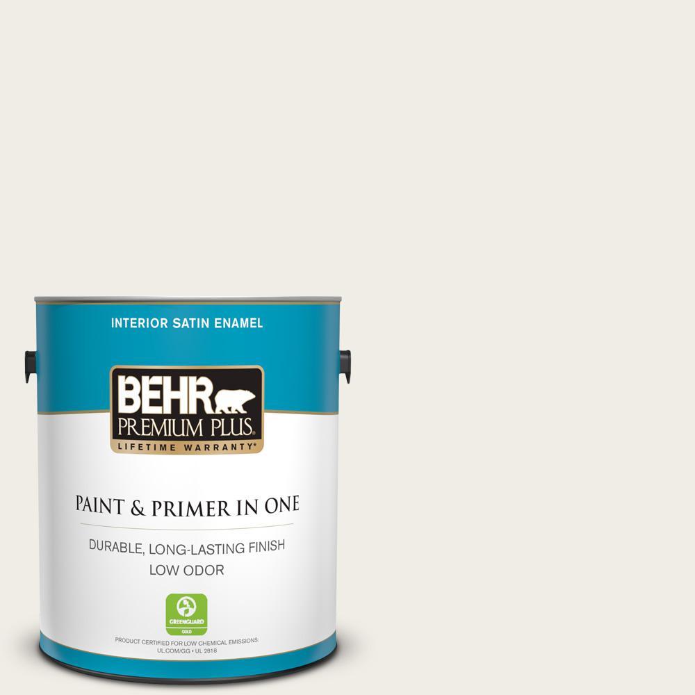 Behr Premium Plus 1 Gal 780c Sea Salt Satin Enamel Low Odor