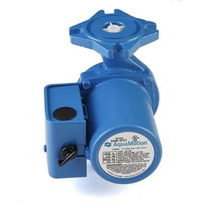 3-Speed Cast Iron Circulator with Built-In Check Valve