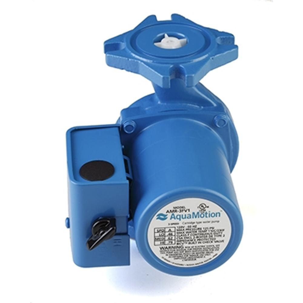 AquaMotion 3-Speed Cast Iron Circulator with Built-In ...