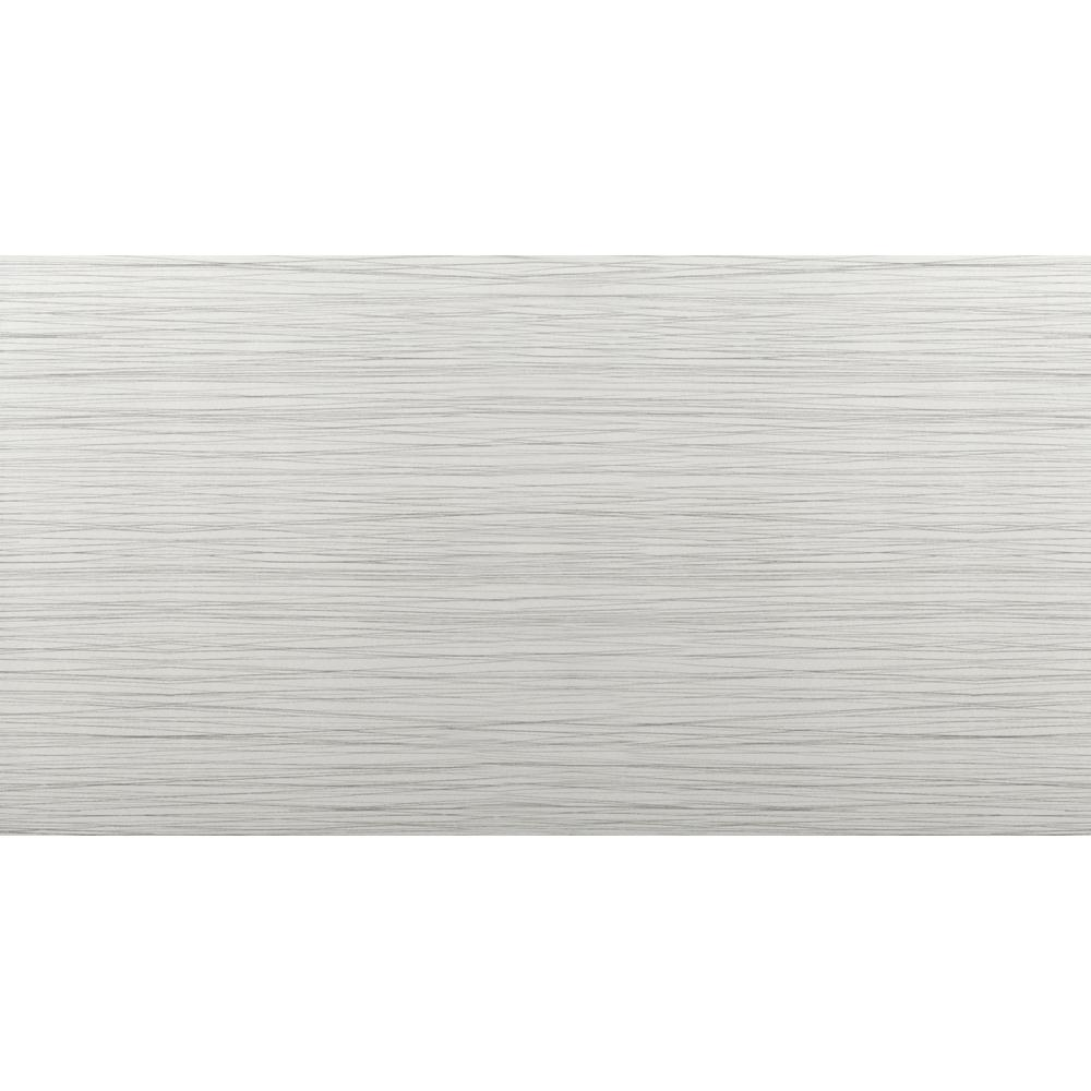 Emser Thread Silver Matte 11 81 In X 23 62 Porcelain Floor And Wall Tile