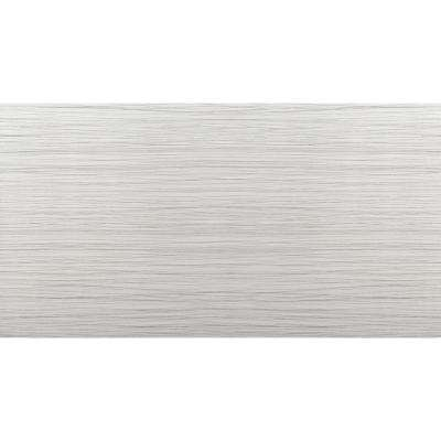 Thread Silver Matte 11.81 in. x 23.62 in. Porcelain Floor and Wall Tile (15.504 sq. ft. / case)
