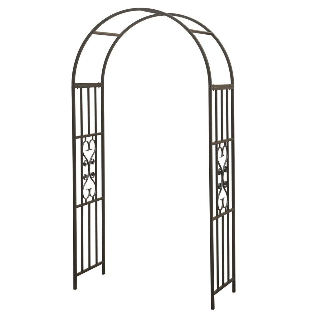 Sunjoy Patriot 91 in. x 22 in. Tubular Steel Glory Arbor-DISCONTINUED