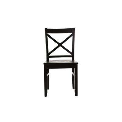 Elena Black Dining Chairs (Set of 2)