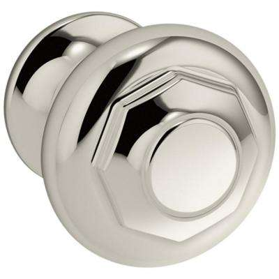 Artifacts 1.1875 in. Vibrant Polished Nickel Cabinet Knob