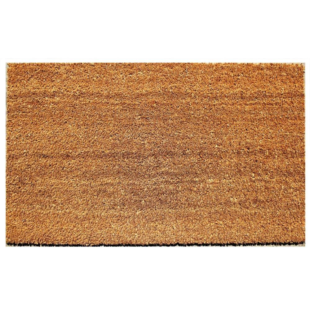 image regarding Printable Floor Mats named Beige 18 inside of. x 30 within. Coir and Vinyl Doorway Mat