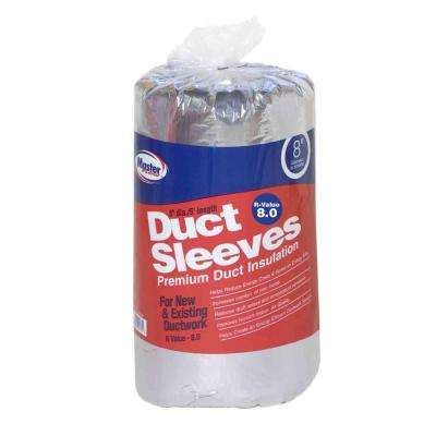 8 in. Dia R-8 Ductwork Insulation Sleeve