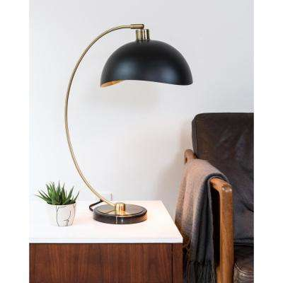 Luna Bella Table Lamp Weathered Brass