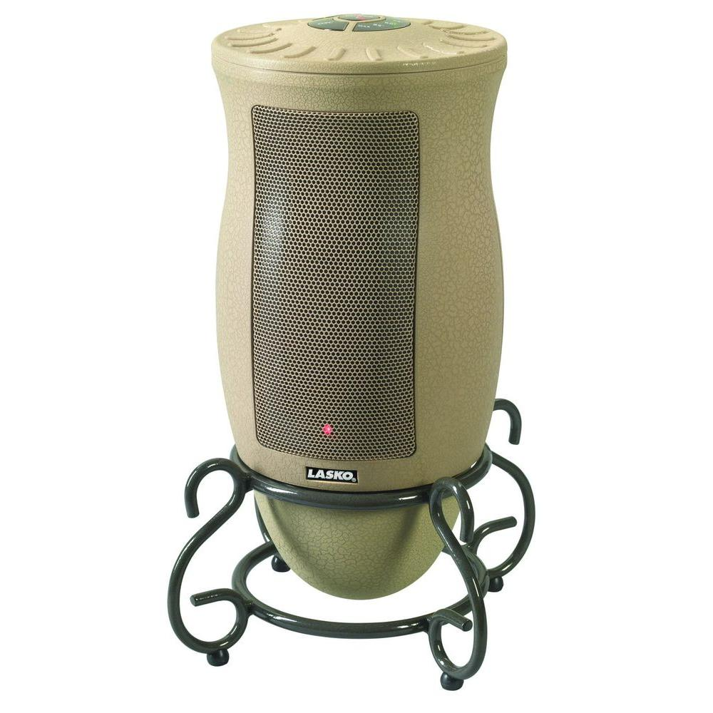 Designer Series 1500-Watt Oscillating Ceramic Electric Portable Heater with