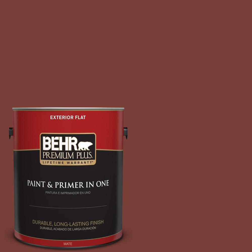 1 gal. #PPU2-02 Red Pepper Flat Exterior Paint