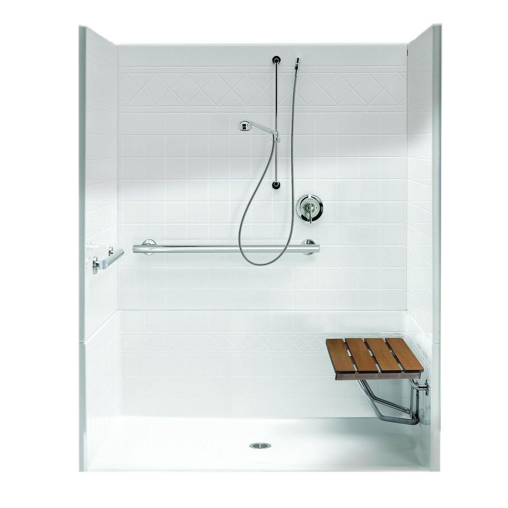 Freedomline 63 8 In X 37 1 77 4 Piece Shower