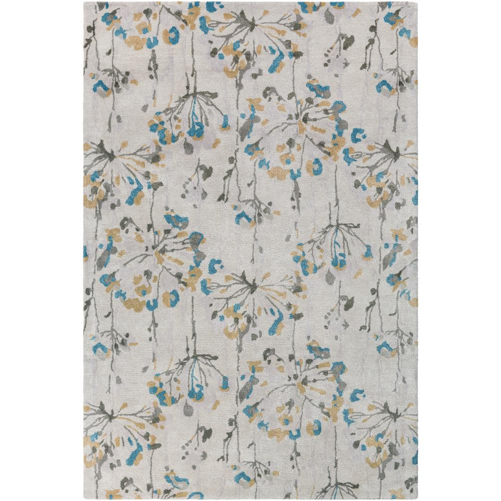 Home decorators collection rush blue 8 ft x 11 ft area for Home decorators rugs blue