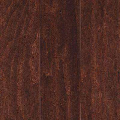 Take Home Sample - Foster Valley Autumn Russet Engineered Scraped Hardwood Flooring - 5 in. x 7 in.
