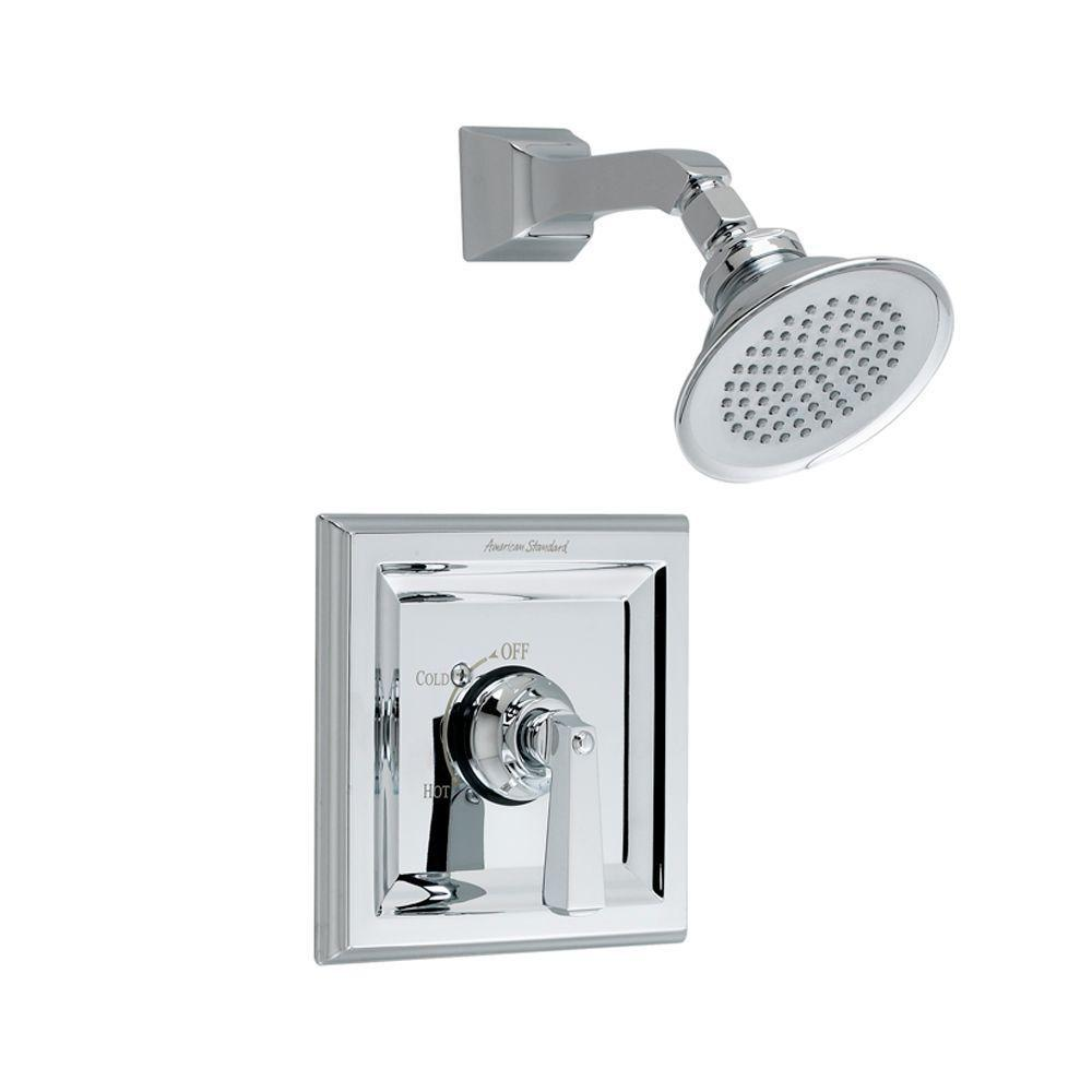 American Standard Town Square 1-Handle Tub and Shower Faucet Trim Kit in Polished Chrome (Valve Sold Separately)