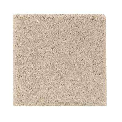 Carpet Sample - Gazelle I - Color Dry Gourd Texture 8 in. x 8 in.