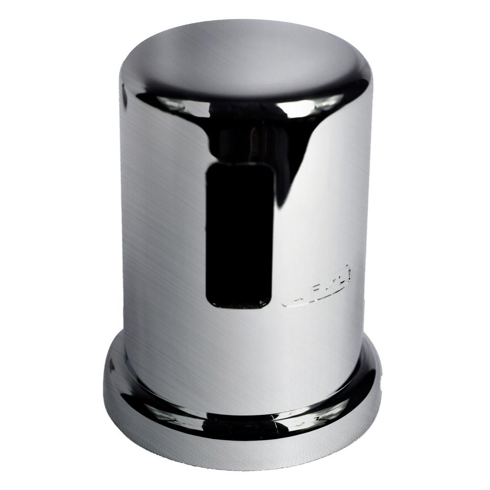DANCO 2 in. O.D. Kitchen Air Gap Cap in Stainless Steel