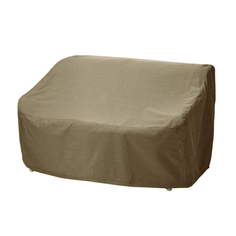 Brown Jordan Northshore Patio Furniture Cover For The Loveseat 3870 6212 The Home Depot