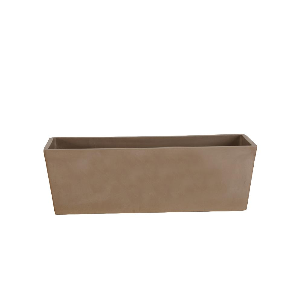 Simplicity 25-1/2 in. x 9 in. x 9 in. Taupe PSW