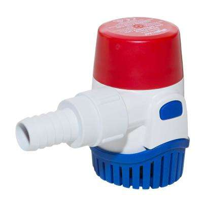 0.02 HP Submersible 12-Volt Manual Bilge Pump