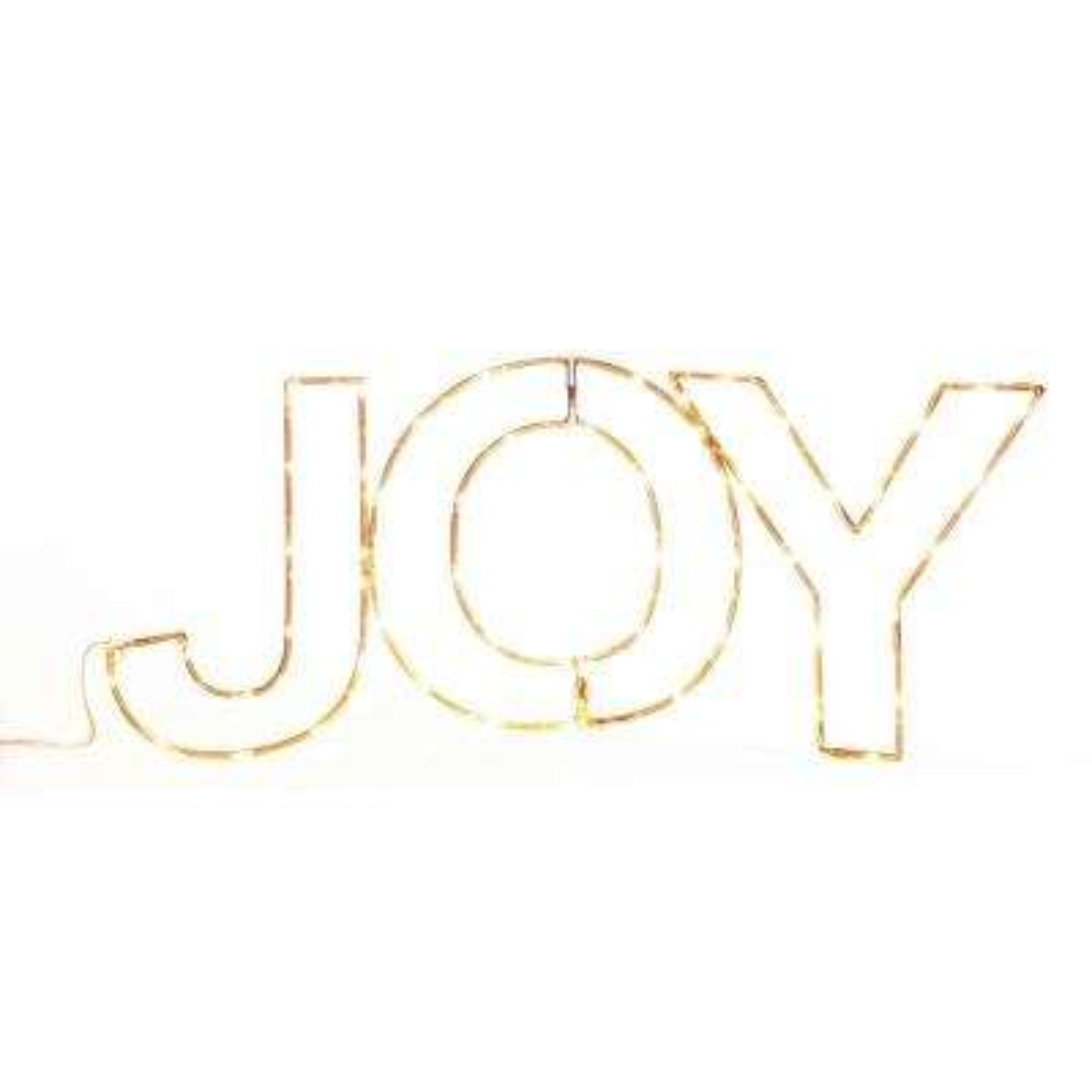 28 in. Merry Messages-Joy