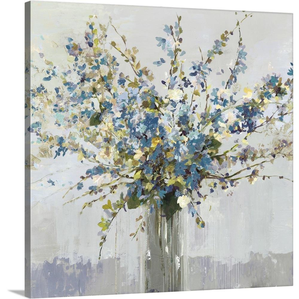 """Bouquet"" by Allison Pearce Canvas Wall Art"