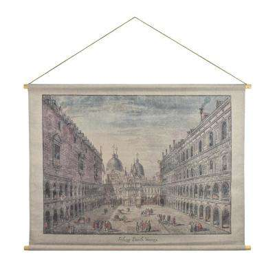 Palazzo Ducale Hanging Linen Tapestry