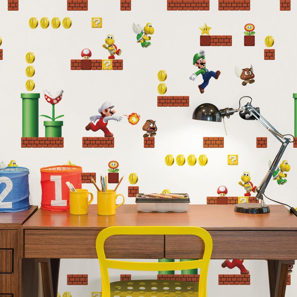 28.29 sq. ft. Mario Peel and Stick Wallpaper