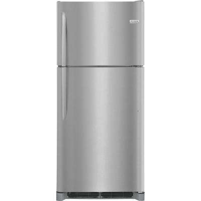 20 cu. ft. Top Freezer Refrigerator in Smudge Proof Stainless Steel
