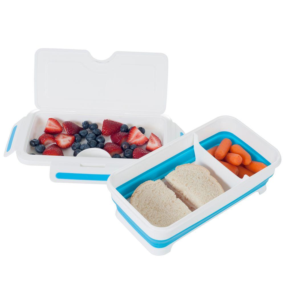 Rectangular Expandable Lunch Box with Dividers  sc 1 st  Home Depot & Rectangular Expandable Lunch Box with Dividers-82-HH094 - The Home Depot