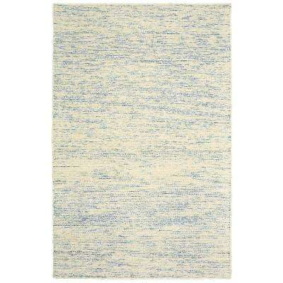 Pin Dot Blue/Multi 9 ft. x 12 ft. Indoor Area Rug