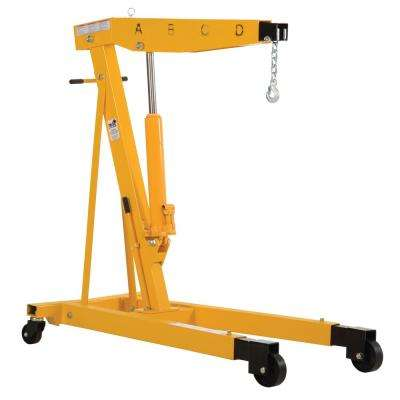 4000 lb. Capacity Engine Hoist with Telescopic Legs