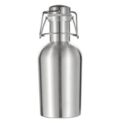 Cassis Stainless Steel 32 oz. Beer Growler