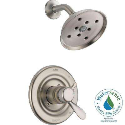 Innovations 1-Handle H2Okinetic Shower Only Faucet Trim Kit in Stainless (Valve Not Included)