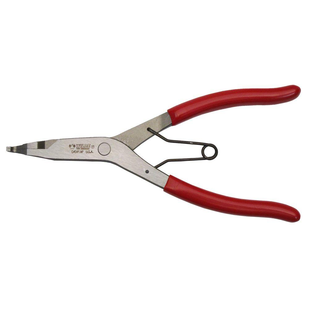 Wilde Tool 9 In Angle Tip Lock Ring Pliers G409pnp The
