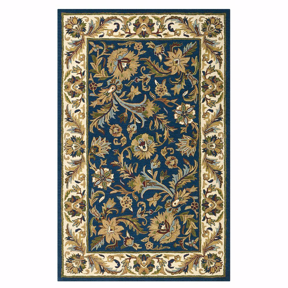 Home decorators collection dudley blue beige 8 ft x 11 ft for Home decorators rugs blue