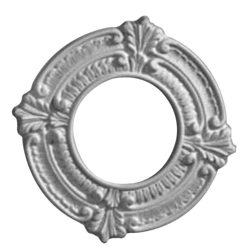 9 in. O.D. x 4-1/8 in. I.D. x 5/8 in. P Benson Ceiling Medallion