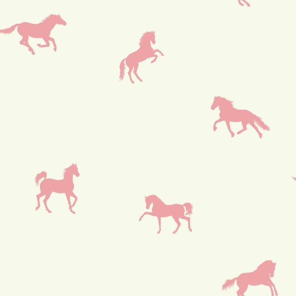 York Wallcoverings Brothers and Sisters V Hooray For Horses Wallpaper