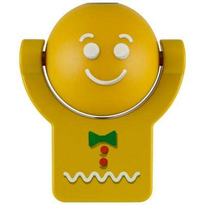 Gingerbread Man Automatic LED Night Light