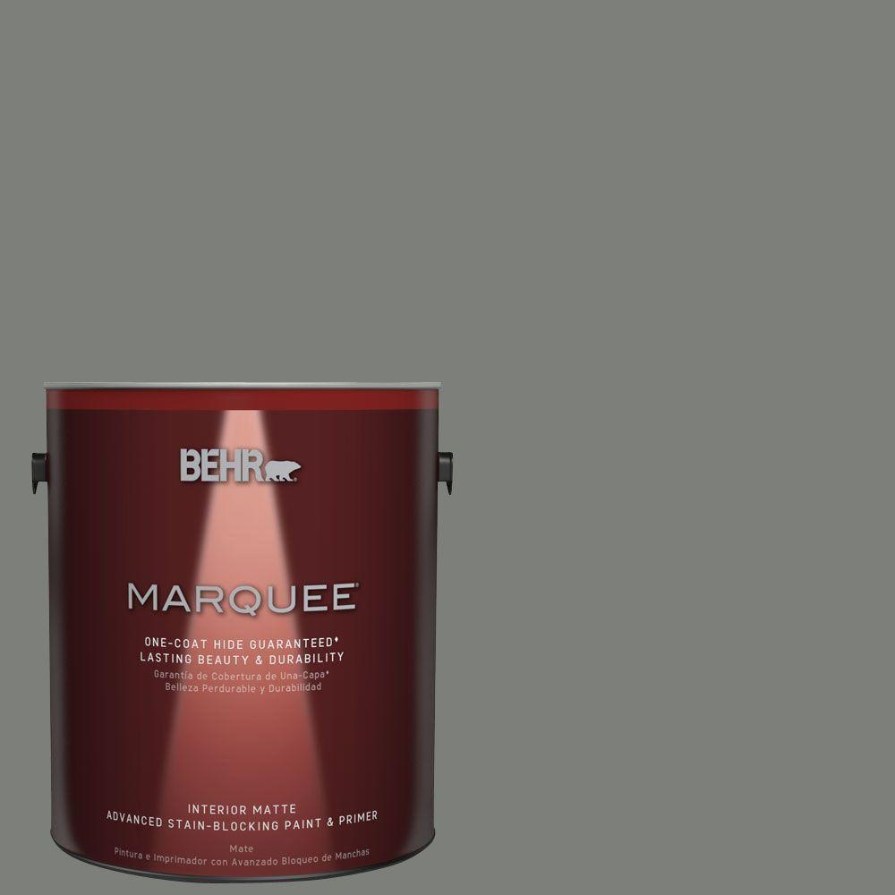 #MQ6 20 Coastal Storm Matte Interior Paint And Primer