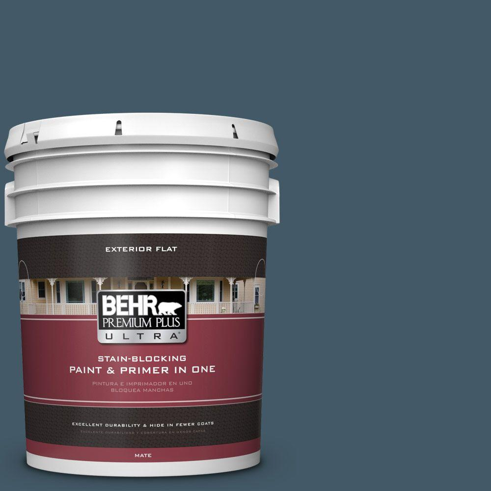 BEHR Premium Plus Ultra 5-gal. #S480-7 Midnight in the Tr...
