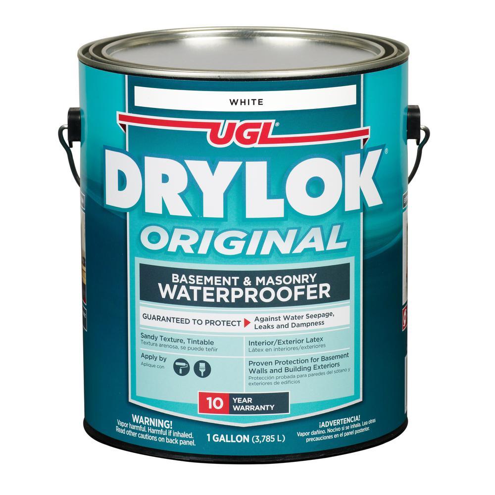DRYLOK 1 Gal. White Masonry Waterproofer