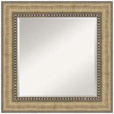 Astoria Champagne 27 in. x 27 in. Bathroom Vanity Wall Mirror