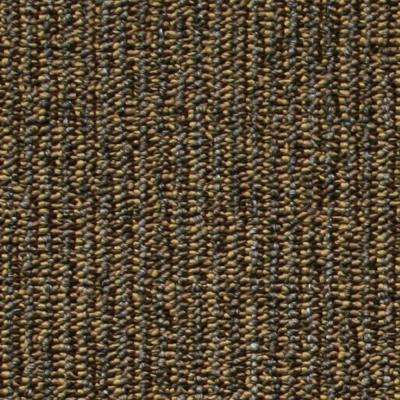 Central Park Brown Loop 19.7 in. x 19.7 in. Carpet Tile (20 Piece/Case)