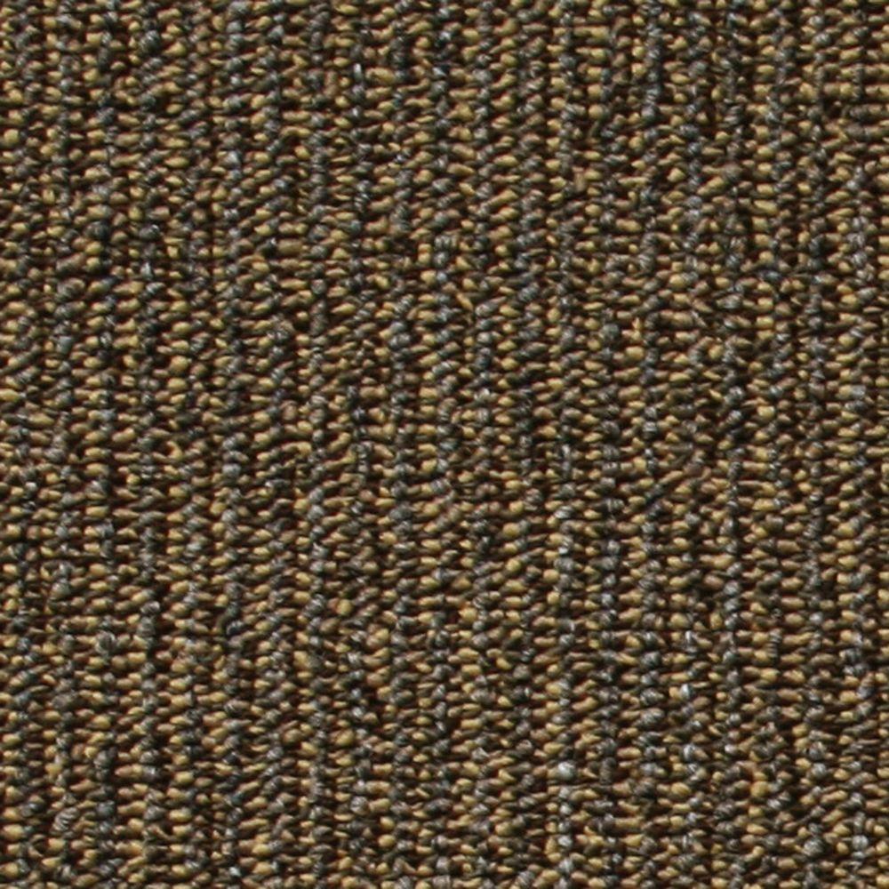 Central Park Brown Loop 19.7 in. x 19.7 in. Carpet Tile (20 Piece/Case)