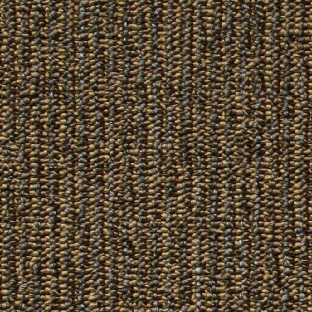 EuroTile Central Park Brown Loop 19.7 in. x 19.7 in. Carpet Tile (20 Piece/Case)