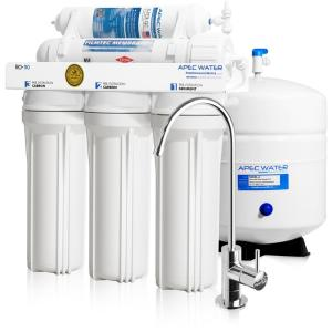 APEC Water Systems Ultimate Premium Quality WQA Certified 90 GPD Under-Sink Reverse Osmosis Drinking Water Filter System by APEC Water Systems