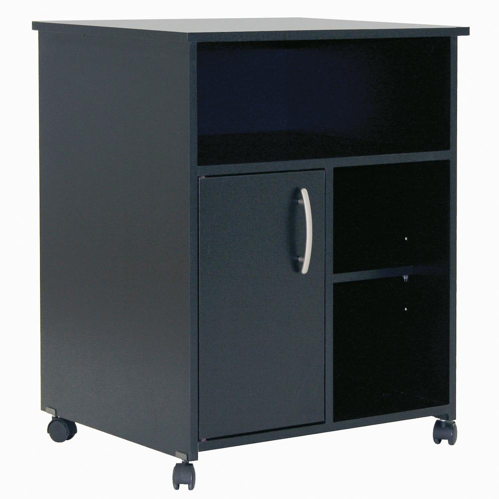 Black Microwave Carts Bestmicrowave